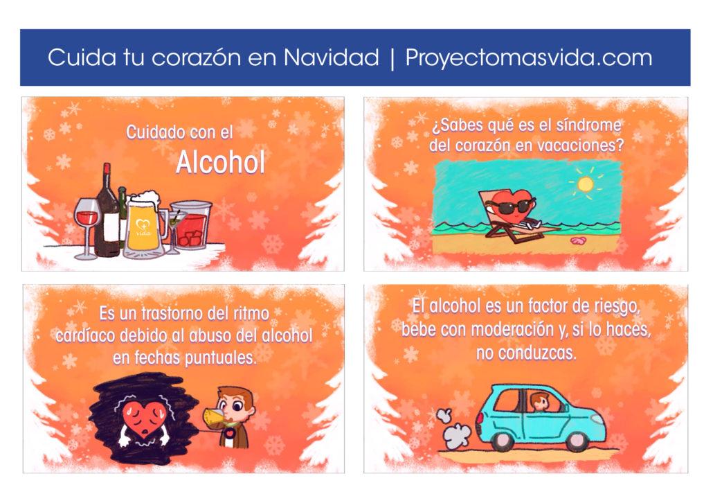 Alcohol en Navidad