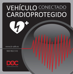 Cartel Vehículo Conectado Cardioprotegiido