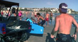Vídeo real del rescate de un ahogado