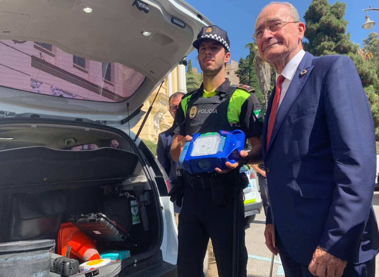 Aumento de los desfibriladores en Málaga0 (0)