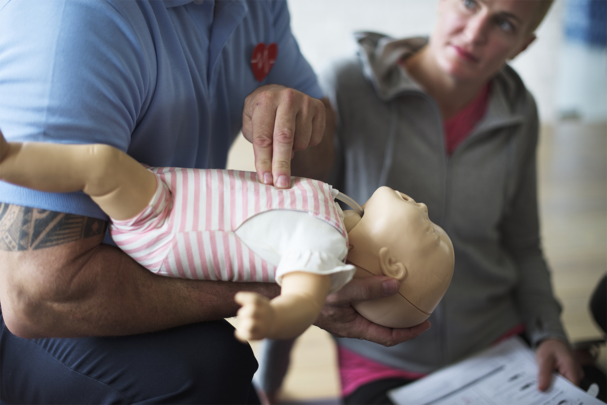 RCP bebés y niños