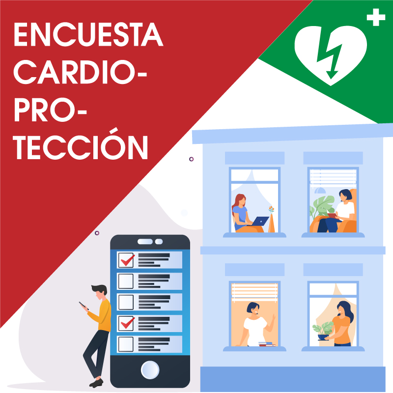 encuesta cardioproteccion desfibirladores en comunidades de vecinos